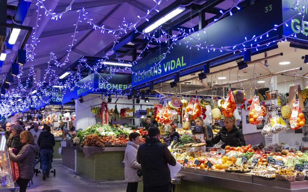 Els mercats s'il·luminen per Nadal