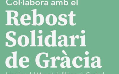 Col·laborem amb el Rebost solidari de Gràcia