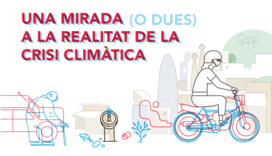 Exposició itinerant: Barcelona respon a l'emergència climàtica